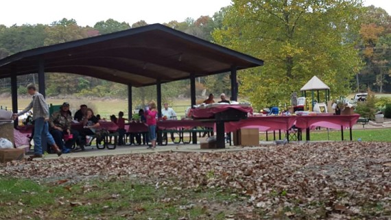 Employee Appreciation Picnic at Mt. Airy, NC